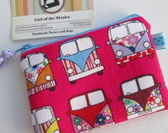 HALF PRICE SALE Camper Van  Credit Card/Coin Purse