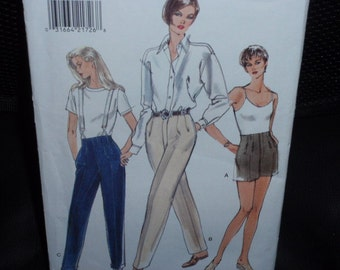 Vogue 9264 Very Easy Career Misses' Shorts and Pants Size 8-10-12  New  Uncut