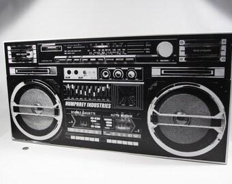 Ghettoblaster (boombox)