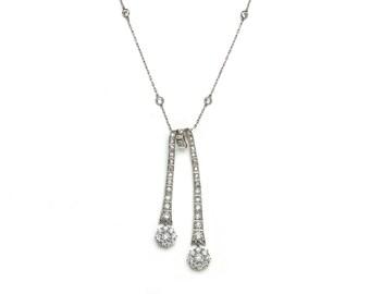 Diamond Négligée Pendant
