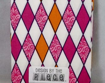 White & Pink Fat Quarter - #116 - Design by the Piece