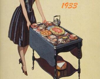 1933 New Edwardsburg Canada Recipe eBook