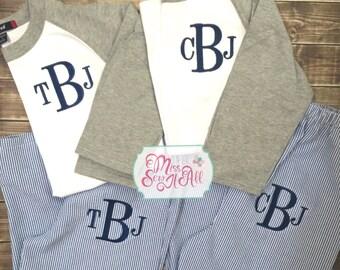 Custom Boys Pajama Sets