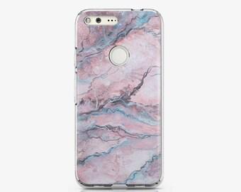 Marble Case Google Pixel Case Pink Pixel Case Pixel XL Case Stone Case Pixel XL Case Google Pixel Cover Phone Case Pink Marble Case AC1509