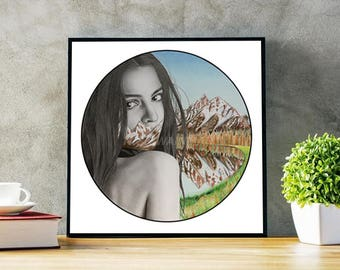 Emily Mountains Print **LIMITED EDITION**