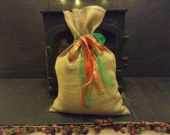 Hessian Sacks/Gift Bag - Large