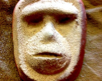 Face on Mars handcrafted art