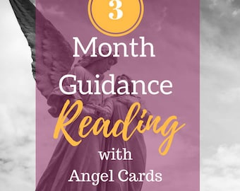 3 Month Guidance Reading Email Psychic Reading Angel Card Reading - RECEIVE it TODAY + PDF