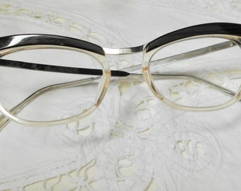 Vintage style 50 years frame-oval lenses-Glasses-prescription glasses years ' 80. Free shipping in Italy