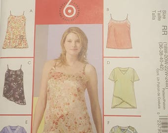 McCall's 6 Looks in 1 Pattern Plus Sized Women's Shirts