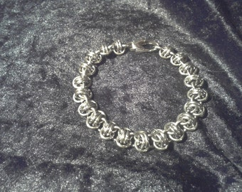 RSD stainless steel chainmaille / chainmail bracelet.  Gift Boxed.  Unisex.