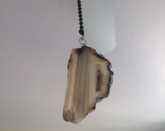 Natural Ceiling fan pull