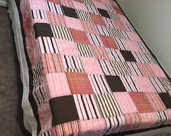 Unusual but effective Twin quilts 88X70