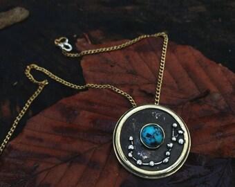 Skorpion Sternzeichen Konstellation Geburtsstein Anhänger Türkis