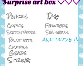 Art surprise box!!!