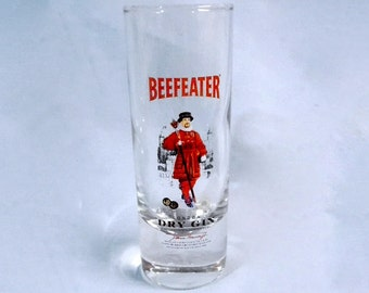 Shooter Shot Glass - Beefeater London Dry Gin