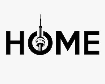 Toronto Home Decal