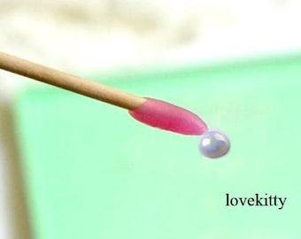 1 pc Pearl Cabochon & Rhinestone picker Jelly stick