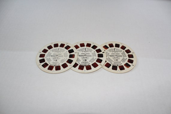 3 Viewmaster Reels Jesus Christ Youth Disciples Miracles