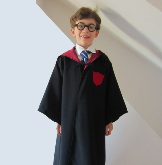 Wizard Cloak not Harry Potter Robe Lined Sewing Pattern