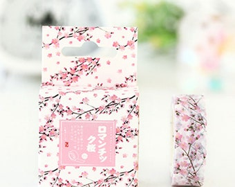 Sakura cherry blossoms washi tape  adhesive tape