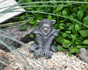 Snark the Troll for Miniature Garden, Fairy Garden