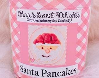 Santa Pancakes Girly Confectionery Soy Candle