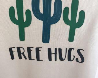 Free Hugs Onesie