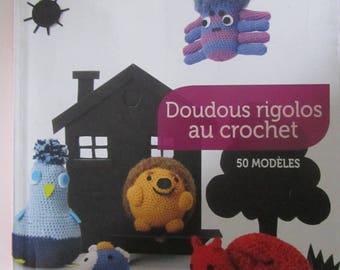 """Funny toys crochet"" book - 50 patterns"
