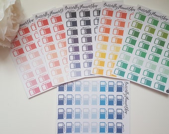 Planner Stickers sticker gas station Rainbow