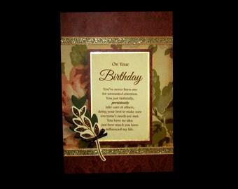 Feminine Birthday Card