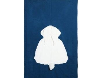 Baby Bedding- Bunny Blanket- Swaddle