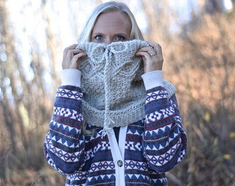 Crochet Pattern: Timeless Cabled Cowl **Permission to Sell Finished Items INSTANT DOWNLOAD