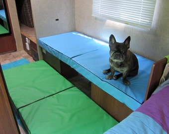 Flippable Dog Bed Perfect For Dogs That Dig Their Beds 28x42x4 In 16 Colors, Replacement Cover, Cat Bed, 18 OZ Waterproof Tough Fabric