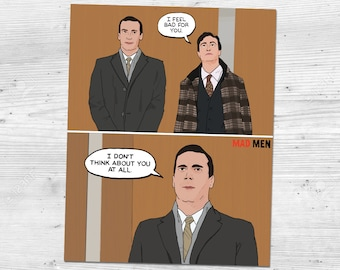 "Mad Men - Season 5 - Don Draper ""I Don't Think About You At All"" Quote 