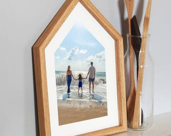 House Shaped Picture Frame