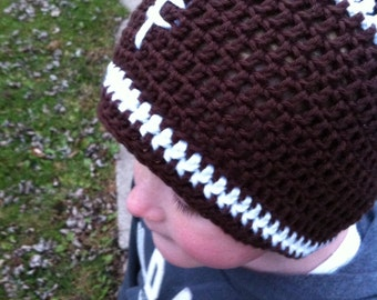 Slouchy Football Hat
