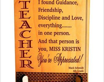 Teacher Gift Ideas - Gifts for Teachers Day - Teacher Appreciation Gift from Students - Classroom, PLT027