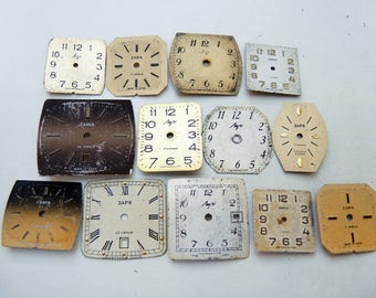 Small Watch Faces - set of 13 - c78