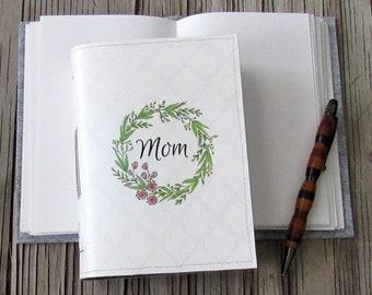 Mama-Zeitschrift - Mama Blumenkranz Journal, Geschenke unter 30 von tremundo