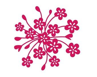 "4"" Flower Bunch"