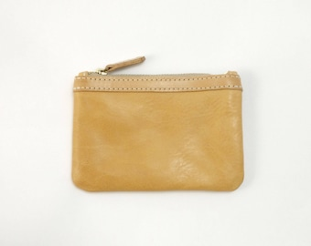 leather coin purse, coin purse, leather purse, handmade, Melbourne, Australia, brass hardware, milled leather