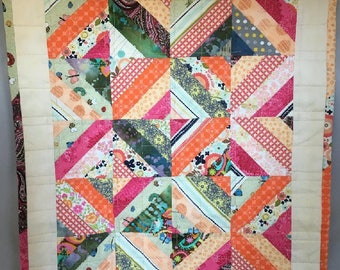 Patchwork Quilt for American Girl or other 18 Inch Doll