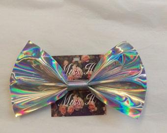 Aurora Holographic Giant Hair Bow