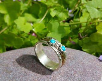 Thumb Rings,Meditation Rings,Turquoise, Festival, Boho, Silver Rings