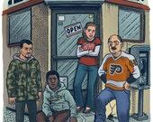 Philly Corner Print...