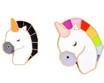 Unicorn Pin - Enamel Pin in fun colors