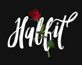 Habbit Typeface Handmade Font