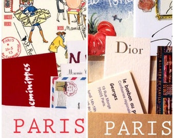 6 Paris letters and 6 maps; a 6-month combo subscription