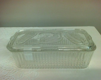 Vintage Federal Refrigerator Dish